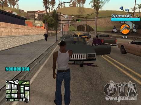 C-HUD new A.C.A.B pour GTA San Andreas deuxième écran