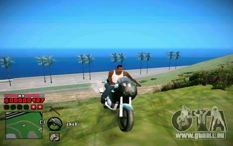 C-HUD by ComPot für GTA San Andreas