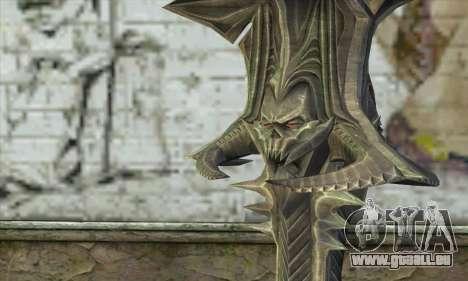 Daedric Sword pour GTA San Andreas deuxième écran