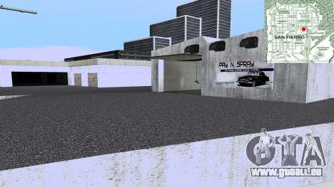 New Wang Cars pour GTA San Andreas cinquième écran