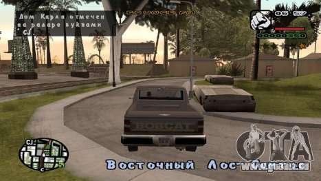 Neue schriftart V.2 für GTA San Andreas zweiten Screenshot