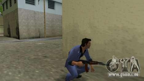 Kalachnikov Modernisé pour GTA Vice City cinquième écran