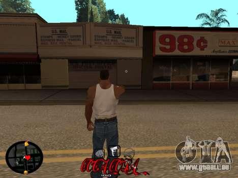 C-HUD Coca-Cola für GTA San Andreas zweiten Screenshot