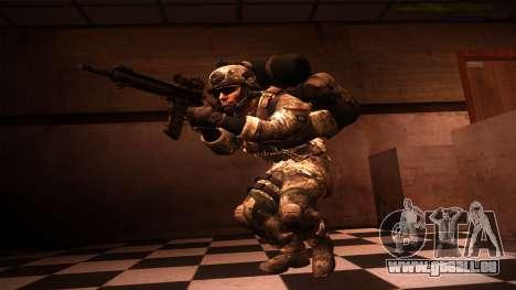 Ranger из Call Of Duty: Geister für GTA San Andreas