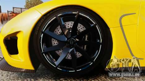 Koenigsegg Agera TE [EPM] pour GTA 4 Vue arrière