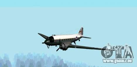 C-47 Dakota de l'USAF pour GTA San Andreas