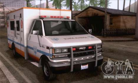 GTA 5 Ambulance pour GTA San Andreas