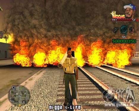C-HUD Niggas pour GTA San Andreas