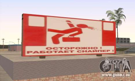 Boutique De Nourriture Saine pour GTA San Andreas troisième écran