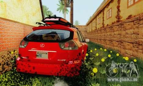 Lexus RX400h 2010 für GTA San Andreas Seitenansicht