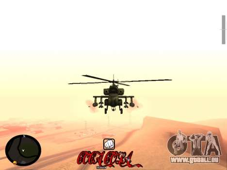 C-HUD Coca-Cola pour GTA San Andreas quatrième écran