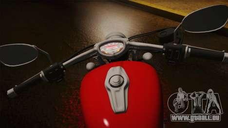 Yamaha Star Stryker 2012 pour GTA San Andreas vue arrière