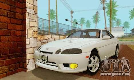 Lexus SC300 v1.01 [ImVehFT] pour GTA San Andreas laissé vue