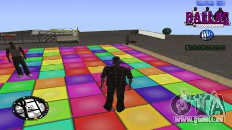 C-HUD Ballas Gang pour GTA San Andreas deuxième écran