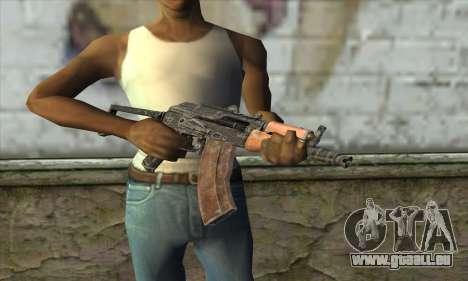 AKC-74У für GTA San Andreas dritten Screenshot