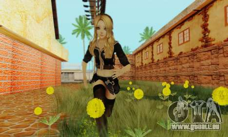 Babydoll Skin pour GTA San Andreas troisième écran