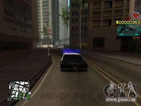 C-HUD Guns pour GTA San Andreas cinquième écran