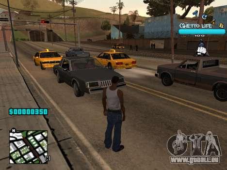 C-HUD new A.C.A.B pour GTA San Andreas