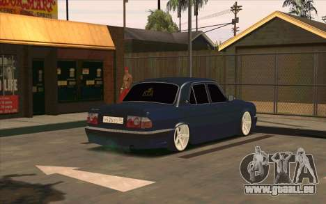 GAZ 31105 pour GTA San Andreas vue de côté