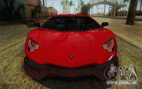 Lamborghini Aventador LP720-4 2013 für GTA San Andreas Seitenansicht