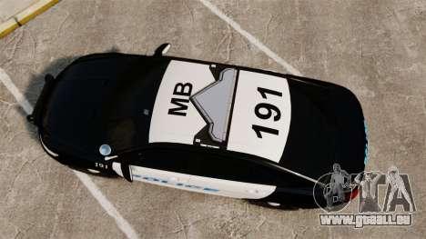 Ford Taurus Police Interceptor 2013 [ELS] pour GTA 4 est un droit