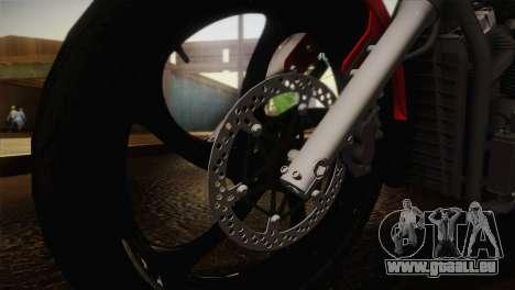 Yamaha Star Stryker 2012 pour GTA San Andreas vue de droite