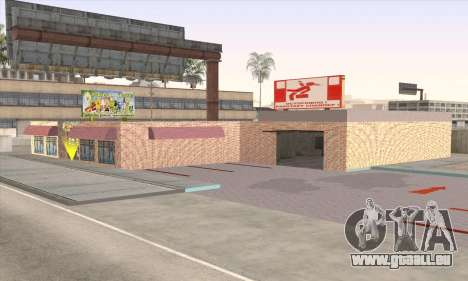 Boutique De Nourriture Saine pour GTA San Andreas quatrième écran