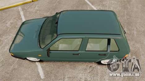 Fiat Uno für GTA 4 rechte Ansicht
