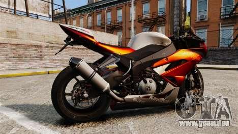 Kawasaki Ninja ZX-6R v2.0 pour GTA 4 est une gauche