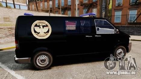 Volkswagen Transporter T5 Hungarian TEK [ELS] für GTA 4 linke Ansicht