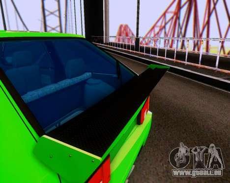 VAZ 2108 Tuneable für GTA San Andreas obere Ansicht