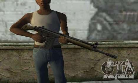 G3A3 pour GTA San Andreas troisième écran
