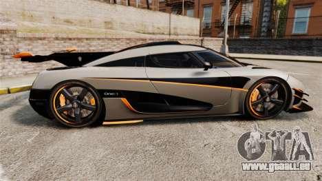 Koenigsegg One:1 [EPM] pour GTA 4 est une gauche
