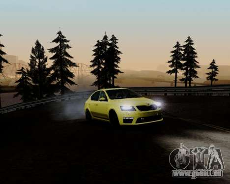 Skoda Octavia A7 RS pour GTA San Andreas