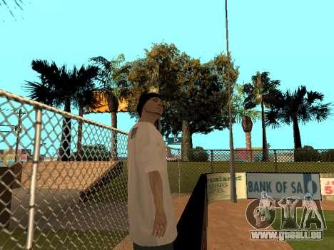 Haut Tracer GPF-Team für GTA San Andreas her Screenshot