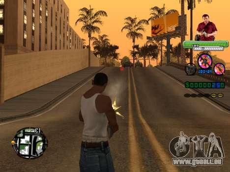 C-HUD Michael (GTA V) pour GTA San Andreas troisième écran