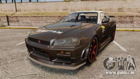 Nissan Skyline GT-R NISMO S-tune Amuse Carbon R für GTA 4