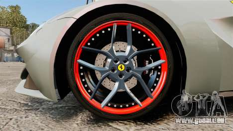 Ferrari F12 Berlinetta Novitec Rosso N-Largo für GTA 4 Rückansicht
