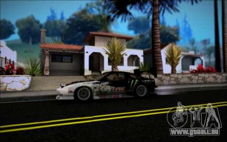 Nissan 240SX Monster Energy pour GTA San Andreas vue de droite