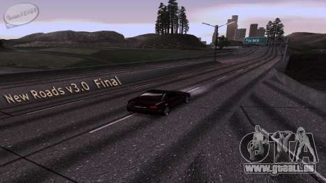 New Roads v3.0 Final für GTA San Andreas