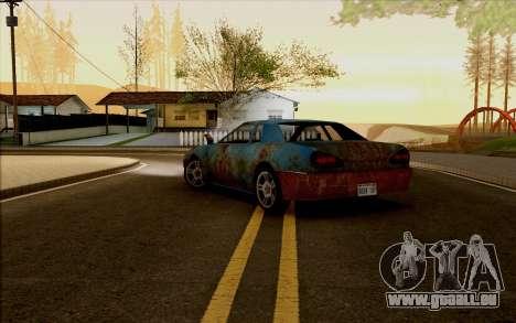 Elegy by Swizzy für GTA San Andreas linke Ansicht