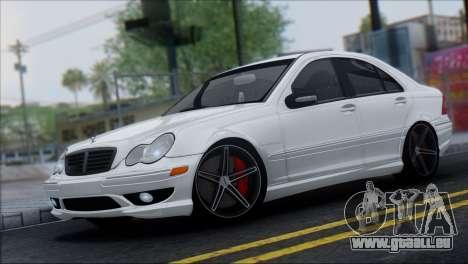Mercedes-Benz C32 Vossen pour GTA San Andreas