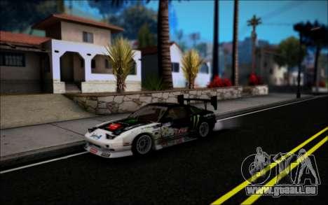 Nissan 240SX Monster Energy pour GTA San Andreas laissé vue