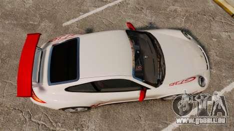 Porsche 997 Carrera GT3 RS pour GTA 4 est un droit