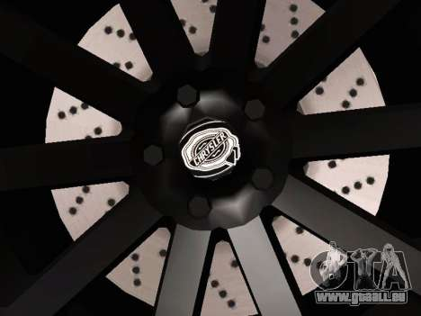 Chrysler 300 SRT8 Black Vapor Edition für GTA San Andreas Seitenansicht