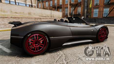 Pagani Zonda C12 S Roadster 2001 PJ3 für GTA 4 linke Ansicht
