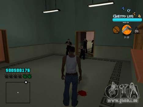 C-HUD new A.C.A.B pour GTA San Andreas cinquième écran