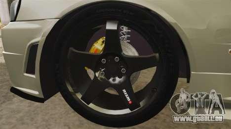 Nissan Skyline R34 Nismo Z-Tune für GTA 4 Rückansicht