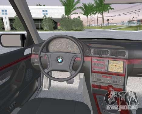 BMW 7-series E38 pour GTA San Andreas vue de droite