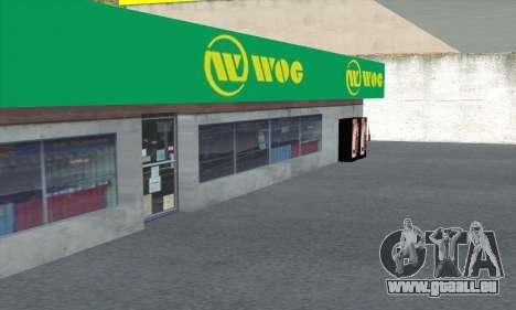 Remplissage dans le style de WOG pour GTA San Andreas huitième écran